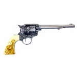 Cavalry Revolver With Buffalo Ivory Grip, Iron Non Firing FP10206