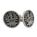 Phoenix Pewter Cufflinks 136.0667