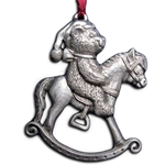 Rocking Horse Bear Christmas Ornament 119.0120