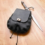 Teardrop Leather Pouch 21-8307L