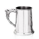 St. Thistle Handle Pewter Tankard One Pint EP014