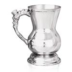 Heavy Gauge Scottish One Pint Pewter Tankard