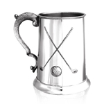 Cross Golf One Pint Pewter Tankard