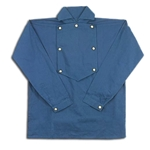 Civil War Cavalry Shirt in Blue Cotton