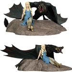Game of Thrones Daenerys and Drogon Limited Edition Statue 26-772