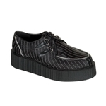 Creeper Pinstriped Platform Shoes 34-3186