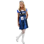 Doctor Who Tardis Dress S/M