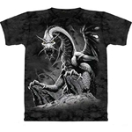 Black Dragon Adult T-Shirt 43-1012521