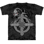 Celtic Cross Dragon Adult T-Shirt 43-1012531