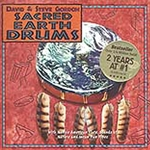 Sacred Earth Drums by Gordon/ Gordon CD 45-USACEAR