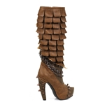 Caymene Layered Boots In Brown