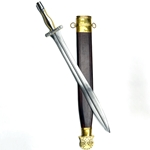 Greek Campovalano Xiphos Sword - Composite Bone and Steel Hilt