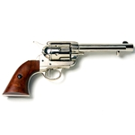 Old West 1873 Frontier Revolver Nickle Finish Non Firing FD1106NQ