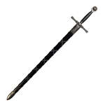 Excalibur Sword w/Scabbard, Nickel Finish SD4170NQ