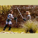 Medieval Swordfighting VHS Video V-1