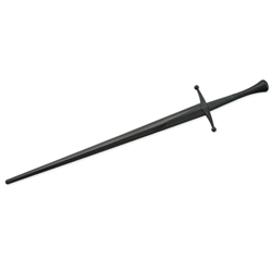 Complete Synthetic Bastard Sword, Black