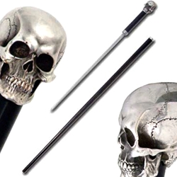Hanwei Skull Sword Cane by Paul Chen SH2131
